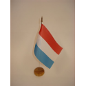 Drapeau de table Luxembourg
