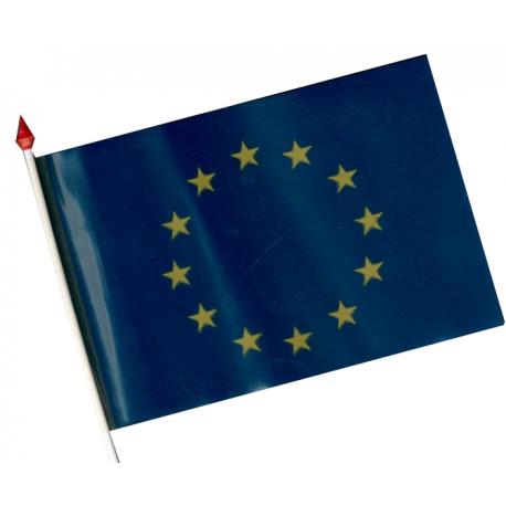 Drapeau Plastique Europe