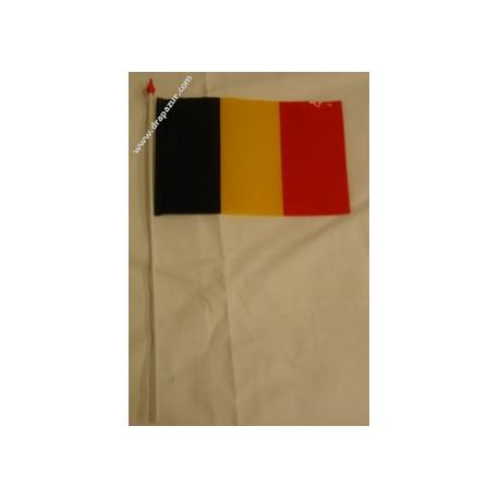 Drapeau plastique Belgique