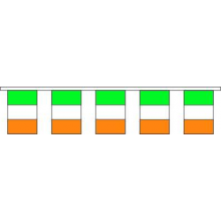 Guirlande plastique Irlande, pavillons