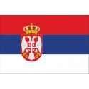 Drapeau Serbie écussons