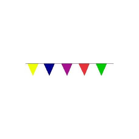 Guirlande tissu multicolore