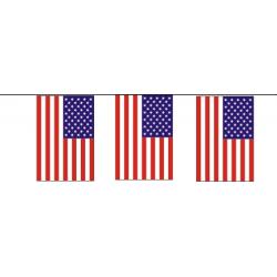 Guirlande plastique USA