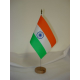 Drapeau de table Inde