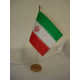 Drapeau de table Iran