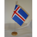 Drapeau de table Islande
