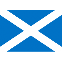 Drapeau de table Ecosse
