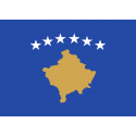 Drapeau de table Kosovo 10*15 cm