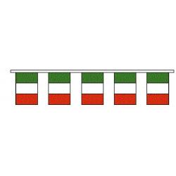 Guirlande plastique Italie 10m