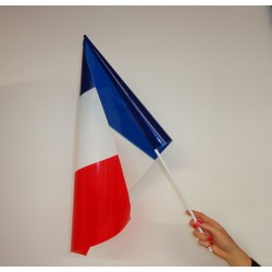 Drapeaux plastique France 40*60 cm