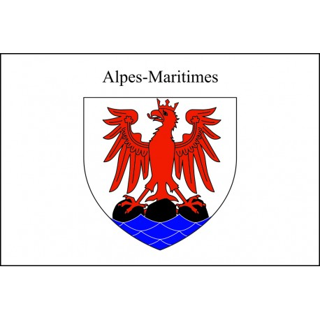 Drapeau Alpes Maritimes