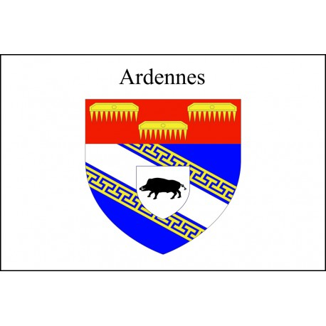 Drapeau Ardennes