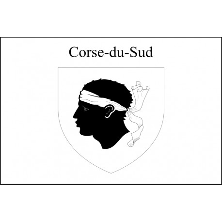Drapeau Corse du Sud