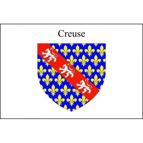 Drapeau Creuse