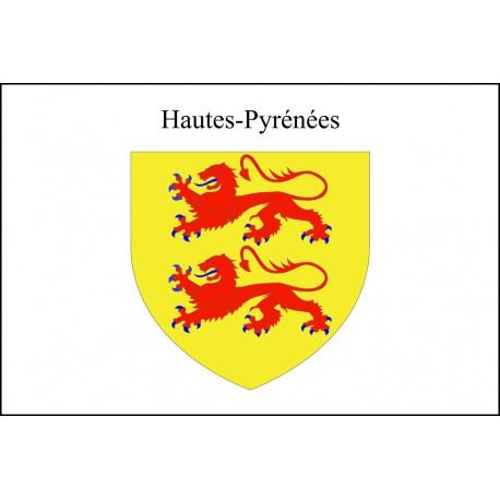 Drapeau Hautes Pyrénées