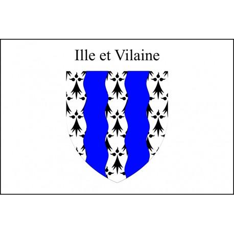 Drapeau Ille et Vilaine