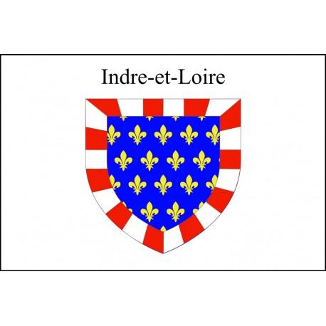 Drapeau Indre et Loire