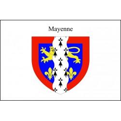 Drapeau Mayenne