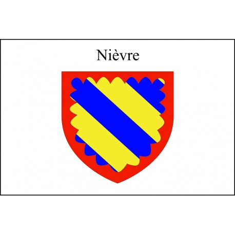 Drapeau Nièvre