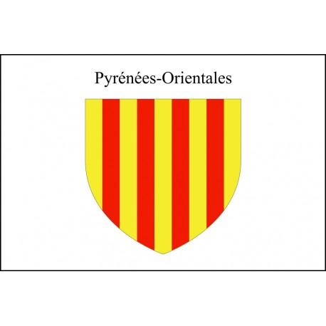 Drapeau Pyrénées Orientales