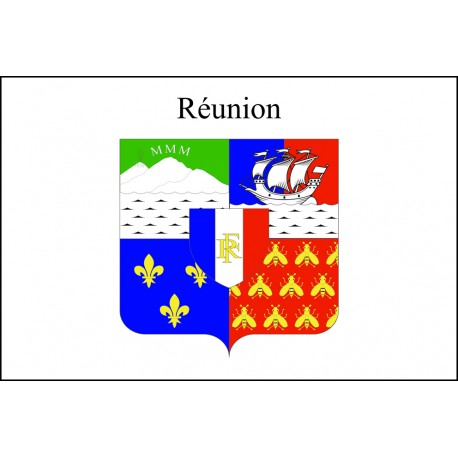 Drapeau La Réunion