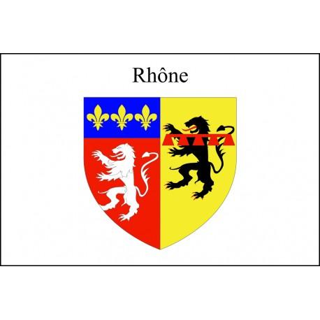 Drapeau Rhône