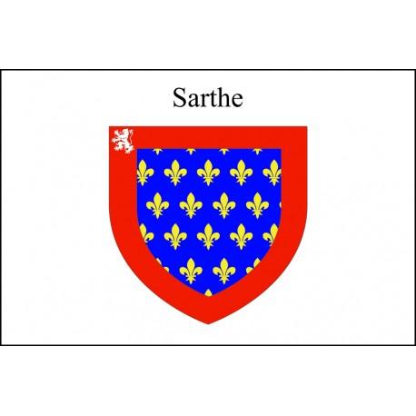 Drapeau Sarthe