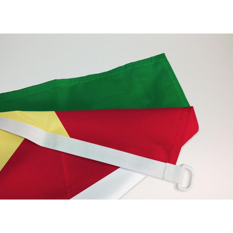Flagge Fahne Seychellen Hissflagge 90 x 150 cm
