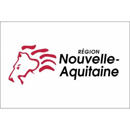 Drapeau Région Nouvelle-Aquitaine 100*150 cm