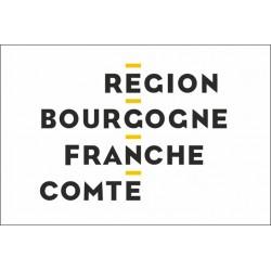 Drapeau Région Bourgogne-Franche-Comté 100*150 cm