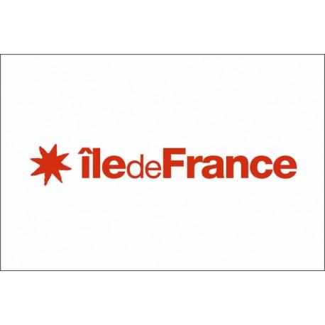 Drapeau Région Ile De France 100*150 cm