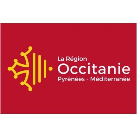 Drapeau Région Occitanie 150*225 cm