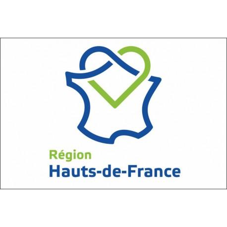 Drapeau Région Hauts-de-France 100*150 cm