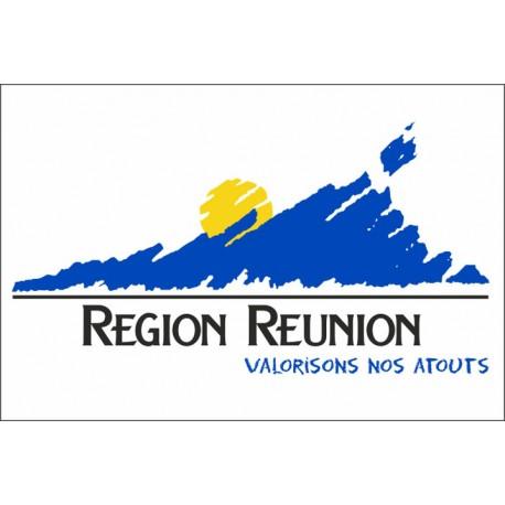 Drapeau Région Réunion 100*150 cm