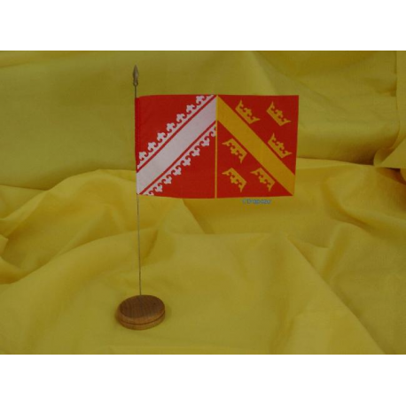 Drapeau de table Alsace