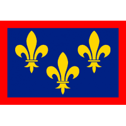 Drapeau de table Anjou