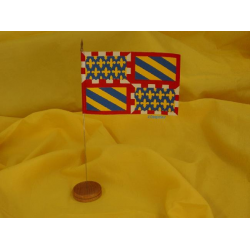 Drapeau de table Bourgogne