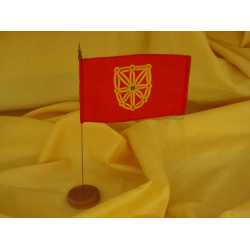 Drapeau de table Navarre