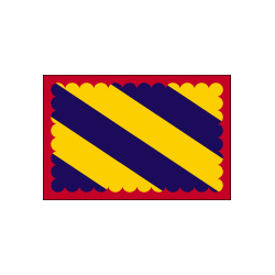 Drapeau de table Nivernais