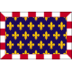 drapeau de table Touraine