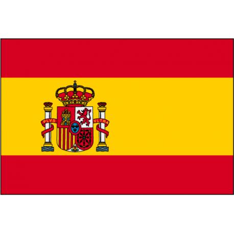 Drapeau Espagne écusson