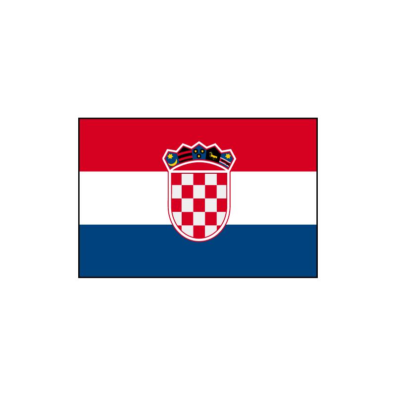 Drapeau Croatie Drapazur