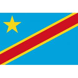 Drapeau Congo (République démocratique)