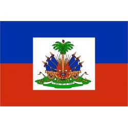Drapeau Haïti ecusson