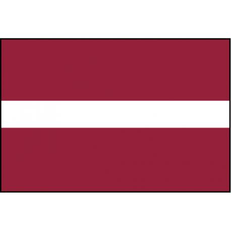 Drapeau de Prestige Lettonie